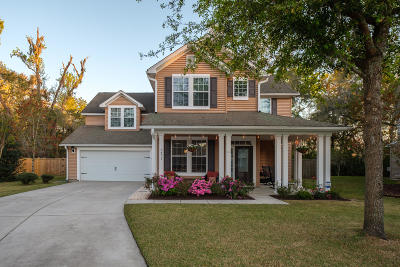 North Charleston Single Family Home For Sale: 5471 Rising Tide