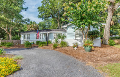 Isle Of Palms Single Family Home For Sale: 27 26th Avenue