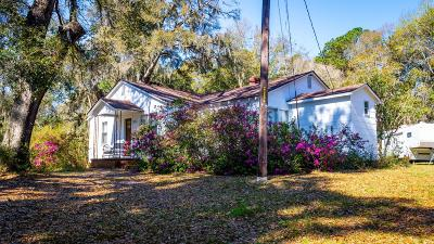Johns Island Single Family Home For Sale: 3210 River Road