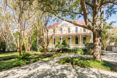 Charleston SC Single Family Home For Sale: $4,600,000