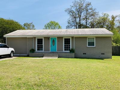 Goose Creek Single Family Home Contingent: 412 Tammie Avenue