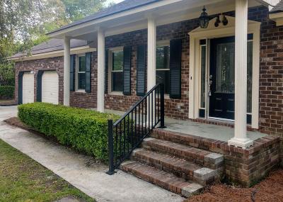 Goose Creek Single Family Home Contingent: 120 Durham Drive