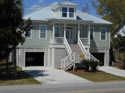 Edisto Beach Single Family Home Contingent: 131 Jungle Road