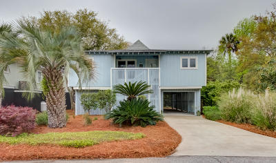 Isle Of Palms Single Family Home For Sale: 1 Sandcrab Court
