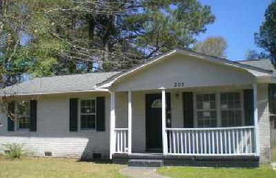 Dorchester County Single Family Home For Sale: 207 Iris Street