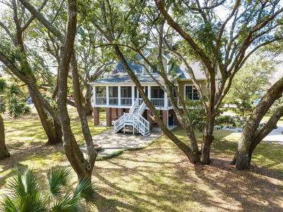 Charleston Single Family Home For Sale: 1666 Back Creek Road