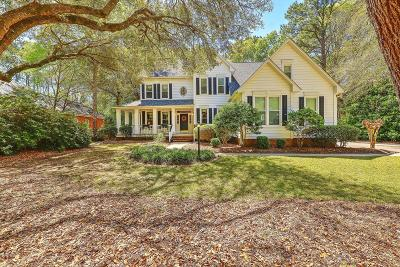 North Charleston Single Family Home For Sale: 8611 W Fairway Woods Drive