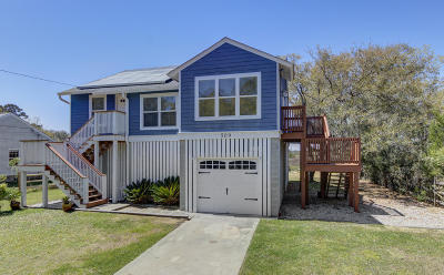 Charleston Single Family Home For Sale: 509 Kell Place
