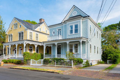 Charleston Single Family Home For Sale: 3 Bennett Street