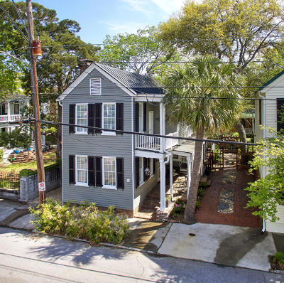 Charleston Single Family Home For Sale: 12 1/2 Gadsden Street