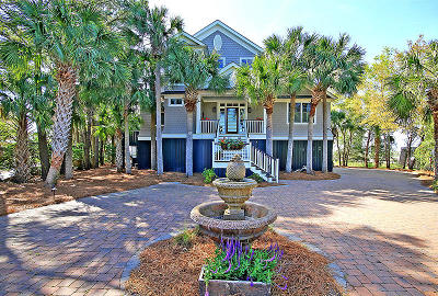 Isle Of Palms Single Family Home For Sale: 46 Seagrass Lane
