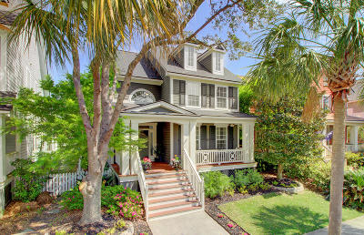 Charleston Single Family Home Contingent: 136 Etiwan Park Street