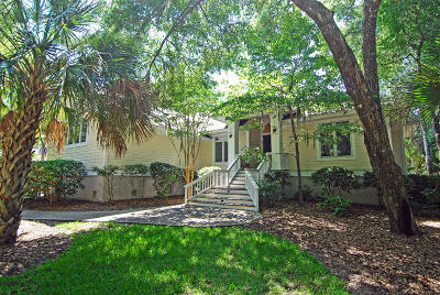 Seabrook Island Single Family Home Contingent: 2405 Cat Tail Pond
