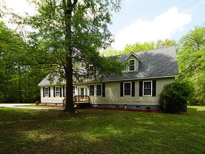 Ridgeville Single Family Home For Sale: 570 Haven Road