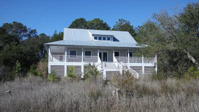 Edisto Island Single Family Home For Sale: 7753 Blue House Lane