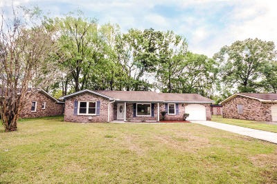 North Charleston Single Family Home Contingent: 4337 Cheviot Drive