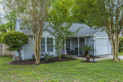 Charleston Single Family Home For Sale: 2836 Fox Lake Court