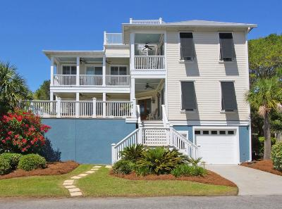 Isle Of Palms Single Family Home For Sale: 1 Palm Court