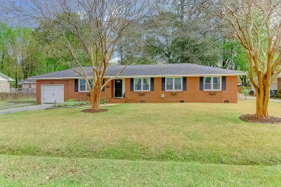 West Ashley Plantation Single Family Home For Sale: 1839 St Julian Drive