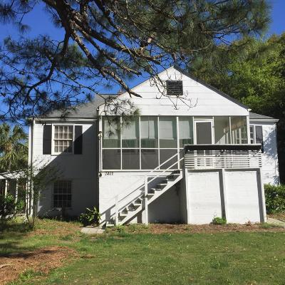 Isle Of Palms Single Family Home Contingent: 2401 Cameron Boulevard