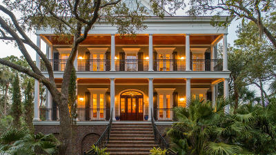 Kiawah Island Single Family Home For Sale: 44 Ocean Course Drive