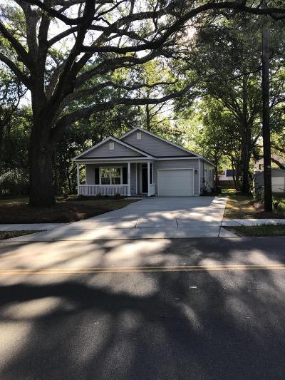 Charleston Single Family Home Contingent: 510 Stinson Drive