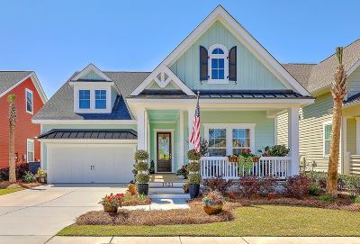 Mount Pleasant Single Family Home For Sale: 1521 Billington Drive