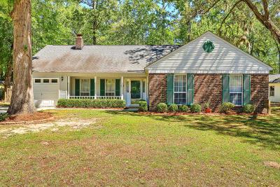 Charleston Single Family Home Contingent: 4709 Blakeford Court