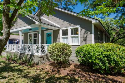 Charleston Single Family Home Contingent: 8 Oak Forest Drive