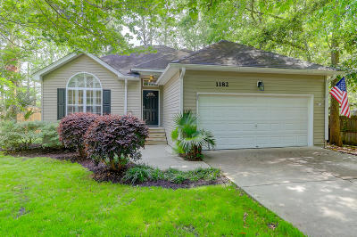 Charleston Single Family Home For Sale: 1182 Pittsford Circle