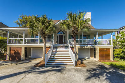 Isle Of Palms Single Family Home Contingent: 9 Seahorse Court