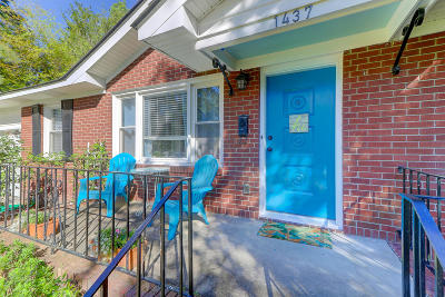 Charleston Single Family Home For Sale: 1437 Fairfield Avenue