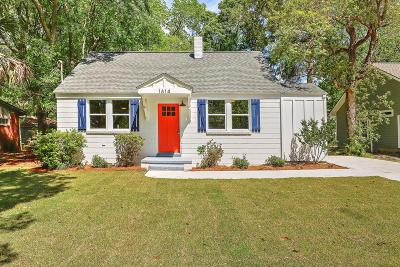 Charleston Single Family Home Contingent: 1614 Juniper Street