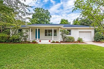 Charleston Single Family Home Contingent: 867 Montgomery Road