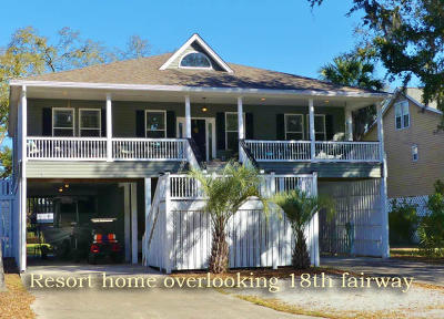 Edisto Island Single Family Home For Sale: 7 Gun Bluff Road