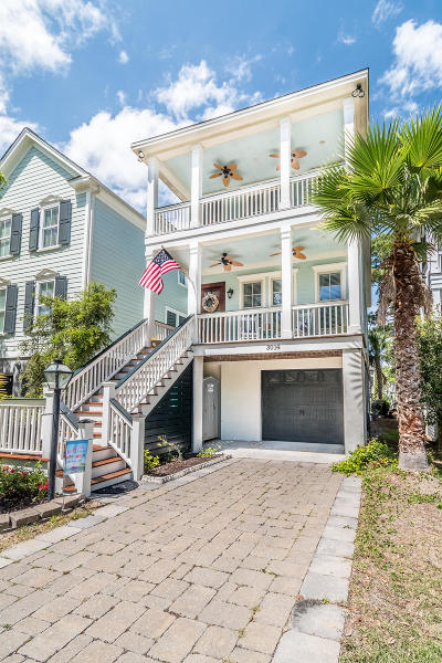 Charleston Single Family Home For Sale: 3014 S Shore Drive
