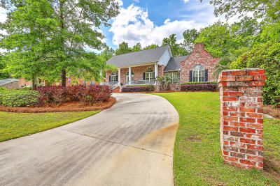 Berkeley County Single Family Home For Sale: 1008 Bruton Boulevard