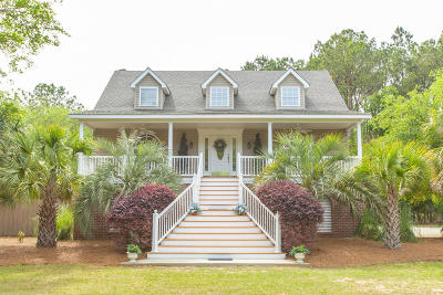Edisto Island Single Family Home Contingent: 856 Edding Creek Drive