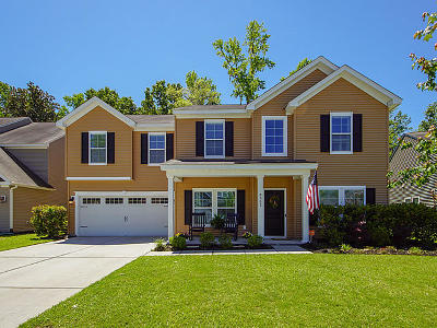 North Charleston Single Family Home For Sale: 8507 Marsh Overlook