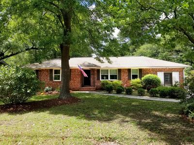 Charleston Single Family Home For Sale: 1939 Campion Hall Road