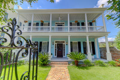 Charleston Single Family Home For Sale: 154 Wentworth Street