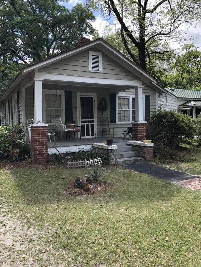 Walterboro Single Family Home For Sale: 119 Morral Street