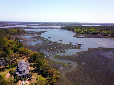 Edisto Island Single Family Home For Sale: 2121&2113 Osprey Watch Lane