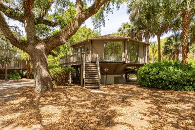 Seabrook Island Single Family Home For Sale: 1 Dune Crest