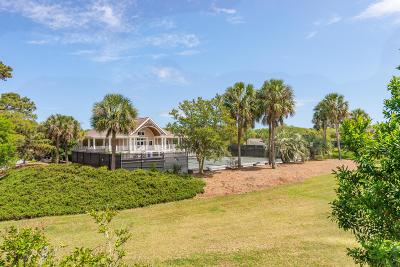 Seabrook Island Single Family Home For Sale: 1647 Live Oak Park