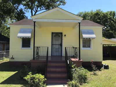 Charleston Single Family Home For Sale: 1631 Jessamine Road
