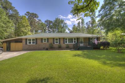 Summerville Single Family Home For Sale: 225 Wilson Drive