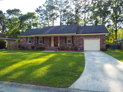 Summerville Single Family Home For Sale: 122 Loblolly Ln. Lane