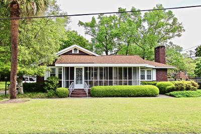 Summerville Single Family Home For Sale: 109 E 7th North Street
