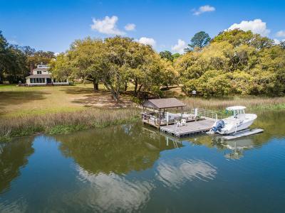 Wadmalaw Island Single Family Home For Sale: 6196 Rockefeller Road